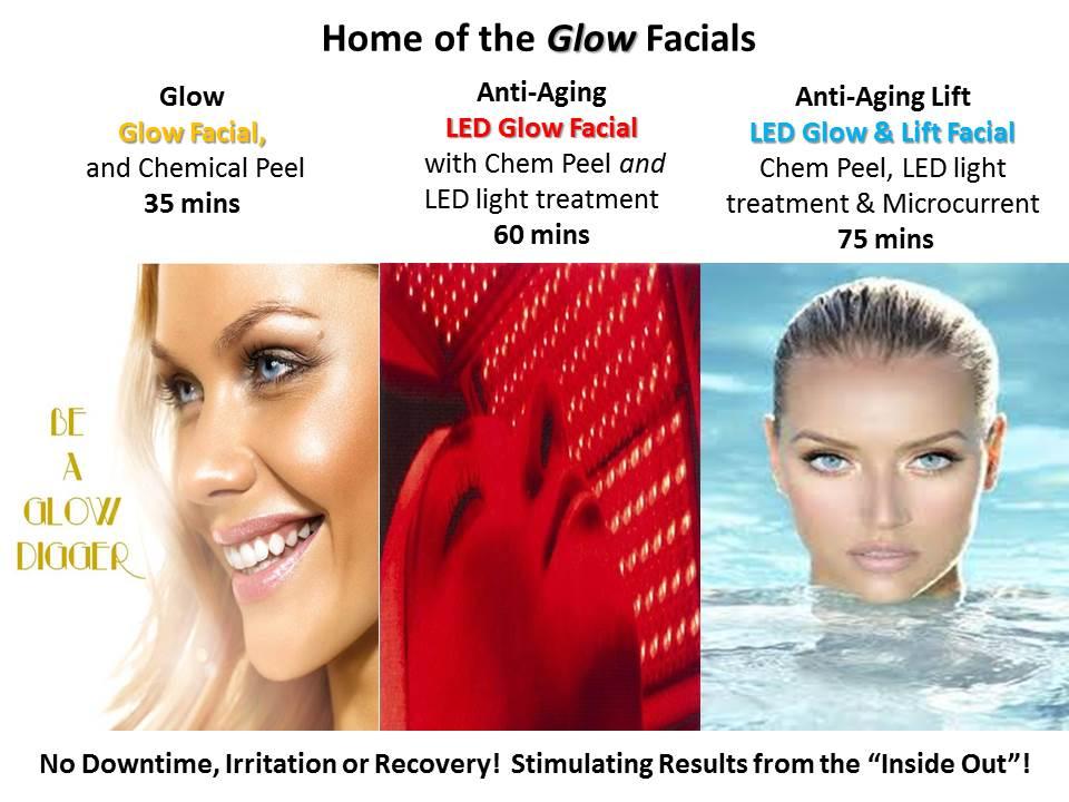 Glow Facials LED Skin Care Spa