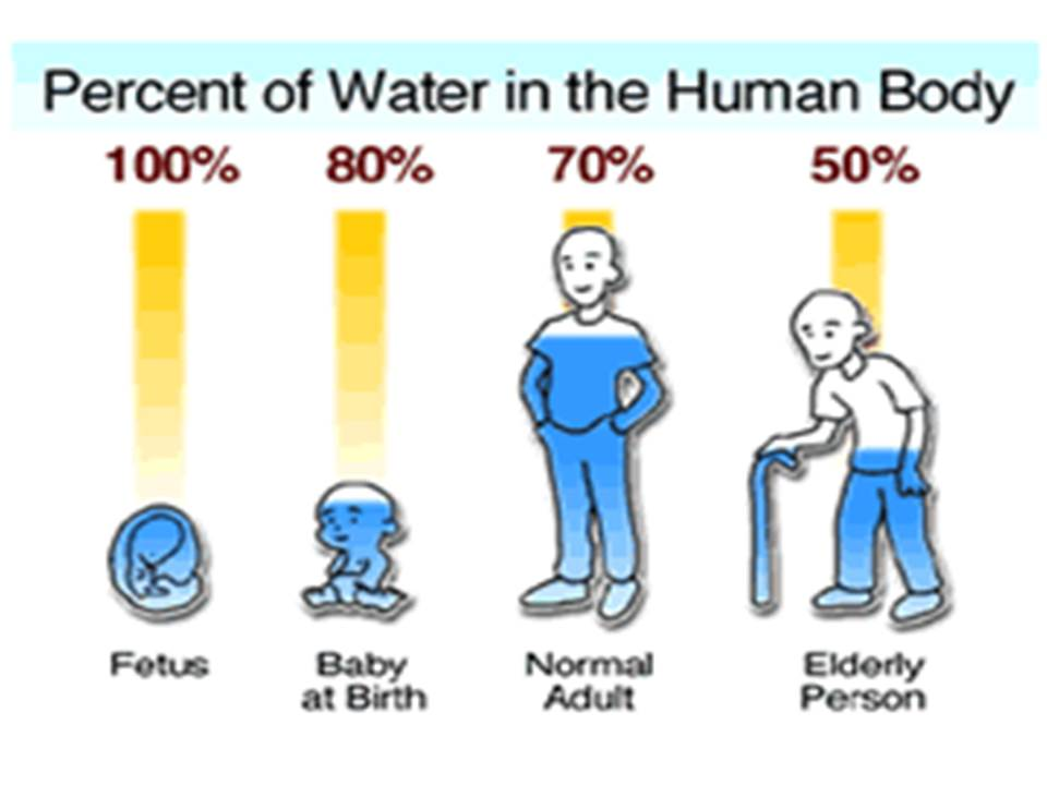 Dehydration through the years of life