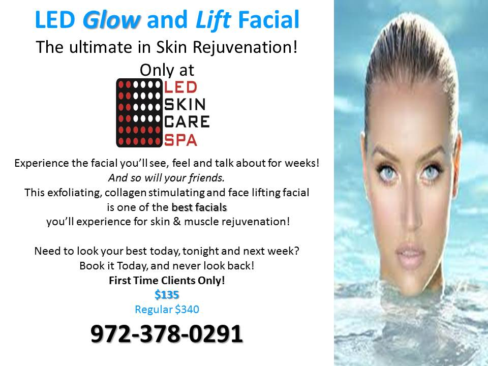 LED Glow Facial and Lift