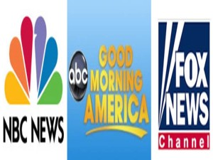 NBC GMA Fox News