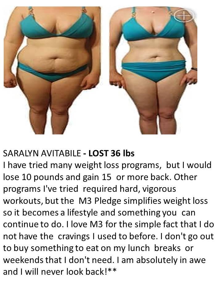 Saralyn 36 lbs