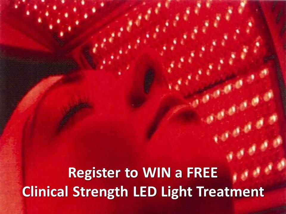 Win a Free LED light Treatment