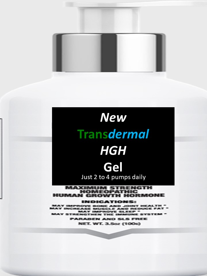 Transdermal HGH Gel
