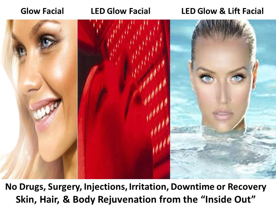 3 Glow Facials