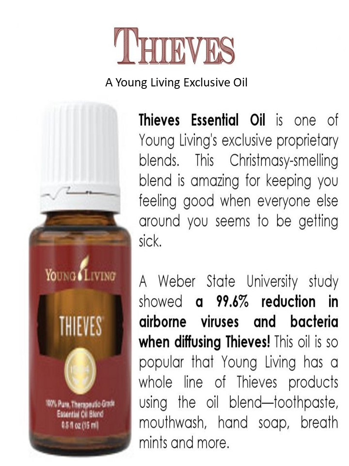 Thieves Oil LED Skin Care Spa